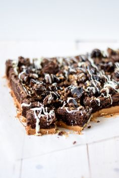 rocky road brownies Rocky Road Cake, Rocky Road Brownies, Blondie Brownies, Brownie Cake, Cupcake Cakes, Cupcakes, Baking Recipes, Sweet Tooth, Bakery