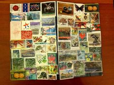 Stamp cover - Travel Journal DIY