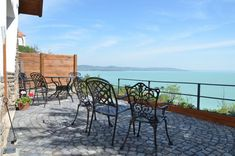 These apartments are located in 6 romantic farmhouses in the historic village of Tihany, just a walk from Lake Balaton. Romantic Places, Outdoor Furniture Sets, Outdoor Decor, How Beautiful, Hungary, Provence, Countryside, Farmhouse, Patio
