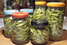 Falešné kapary z medvědího česneku Kimchi, Pickles, Cucumber, Frozen, Homemade, Food, Meal, Home Made, Eten