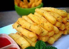 Kentang keju foto resep utama by Read Vegan Recipes Easy, Snack Recipes, Cooking Recipes, Snacks, Drink Recipes, Indonesian Desserts, Indonesian Food, Kids Meals, Easy Meals