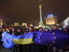 Євромайдан та Революція гідності – такі назви отримали акції протесту на майдані Незалежності в центрі Києва, де 21 листопада 2013 року почалися виступи на підтримку європейського вибору України.