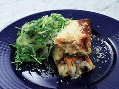 Cannelloni med salsiccia och svamp | Recept från Köket.se
