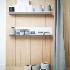 Simplicity is key at Brighton-based boutique Workshop and we can feel the zen mood radiating from these images of the interior 💆🏼 Pictures taken by @lissiwaite #wearetrouva