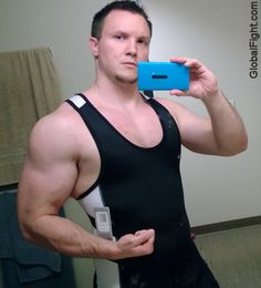 hot muscleman tanktop