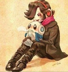 Mettaton and his depressed cousin Blooky. They are both ghosts, one is just in a killer robot body with sweet legs.