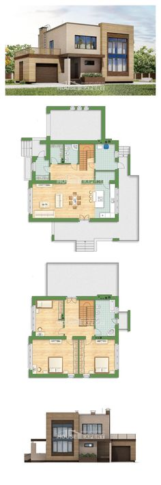Ev villa projesi 220-003-L | House Expert