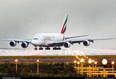 Airbus A380-861 A6-EDV 101 Manchester Ringway Int'l Airport - EGCC