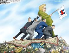 What's keeping Clinton propped up?