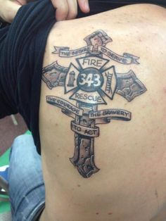 Firefighter tattoo                                                                                                                                                                                 More