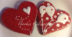 Balloon Hearts | Cookie Connection