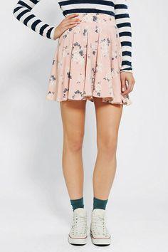 Pins And Needles Floral Circle Skirt