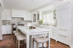 Lake Minnetonka Tailored White Kitchen - traditional - Kitchen - Minneapolis - Liz Schupanitz Designs
