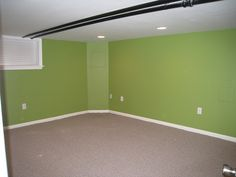 benjamin moore green thumb Benjamin Moore Green, Bright Green, Girl Room, Playroom, Paint Colors, Home Goods, New Homes, House Design, Green Decoration