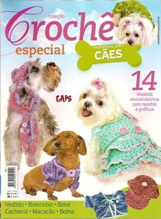 View album on Yandex. Crochet Dog Clothes, Crochet Dog Sweater, Small Dog Clothes, Pet Clothes, Dog Clothing, Dog Best Friend, Dog Clothes Patterns, Cat Sweaters, Cat Accessories