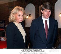 Joan Kennedy | Joan Kennedy & Grandson