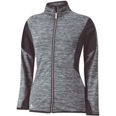 Women's Adidas Women's Full-Zip Mixed Media JacketBlack ($50) ❤ liked on Polyvore featuring plus size women's fashion, plus size clothing, plus size activewear, adidas sportswear, adidas and adidas activewear
