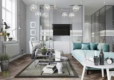 40 Grey Living Rooms
