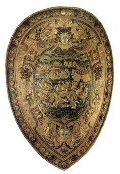 Shield by Benvenuto Cellini, c. 1570