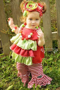 #lulusholiday Triple Ruffle Satin Christmas outfit-