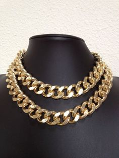 Freedom 18K Gold Color plated Double Chunky by seejewelryonline, $31.95