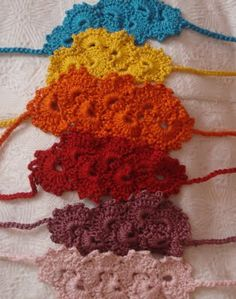 Gorgeous headbands to crochet
