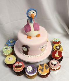 Nursery Rhyme Diaper Cakes   Baby Themed Cakes   Oakleaf Cakes Bake Shop