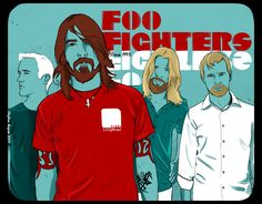 Foo Fighters is a popular alternative rock band from United States. Group set by Dave Grohl in Grohl want to make a one-man music after Kurt Cobain's de Music Love, Music Is Life, Rock Music, My Music, Dream Music, Music Clips, Neil Young, Great Bands, Cool Bands