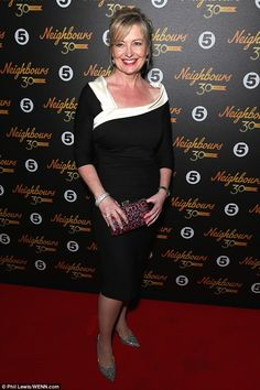 Shining: Carol Kirkwood accessorised with glittery shoes and sparkling handbag to stand ou. Anna Richardson, Olympia Valance, 30th Anniversary Parties, Carol Kirkwood, Susanna Reid, Broadway Plays, Little Sisters, Beauty Women, Glamour