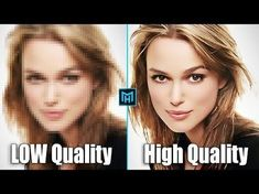 (28) Convert low Quality Photo Into High Quality Photo In Adobe Photoshop Cc - YouTube