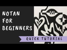Notan Beginner Demonstration - YouTube