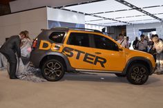 Renault unveiled its Duster Détour concept car, a version of the SUV with an even more adventurous look, in a world premiere at the Johannesburg International Motor Show (c) Renault communication - Droits réservés Renault