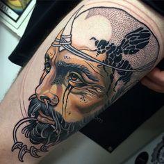 Sam Clark Neo Tattoo, Tattoo Art, Tattoo People, Body Is A Temple, Neo Traditional Tattoo, Art Forms, Tattoo Inspiration, Sleeve Tattoos, Tatting