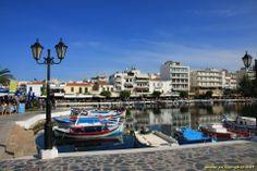 Le lac d'Agios Nikolaos - Crete - Grece
