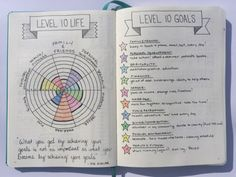 Quote on the left page - What you get by achieving your goals
