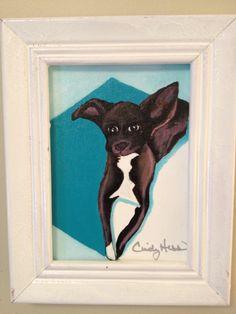 Dog paintings for Talitha's nursery