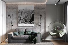Дизайн комнаты для подростка в сдержанных мужских тонах  совместно с @alexey_volkov_ab #дизайнинтерьера #дизайнинтерьер #дизайн #дизайнпроект #интерьер #design #designer #interior #interiordesign #interiors #visualization