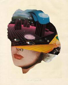 Moon Patrol, Art Analysis, Collage Techniques, Lowbrow Art, Collage Artists, My Themes, Pop Surrealism, Weird Art, Pulp Art