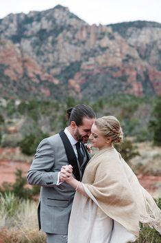 Sedona elopement wedding