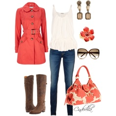 Coral and Cute - Polyvore