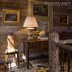 Mountain House | William T. Baker | barn wood, hall, reclaimed wood, rustic wood, wood panel wall, wood walls