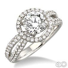 Very pretty, but not sure I like the height of the center stone.