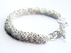 french knitted jewellery - Google Search