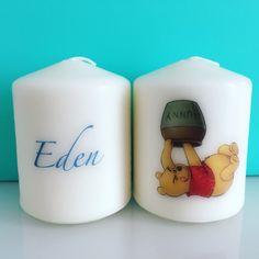 Bougies personnalisée pour enfant, idéal pour un cadeau ou une belle deco de chambre