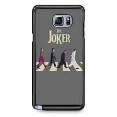 Joker The Bettles Style TATUM-5948 Samsung Phonecase Cover Samsung Galaxy Note 2 Note 3 Note 4 Note 5 Note Edge