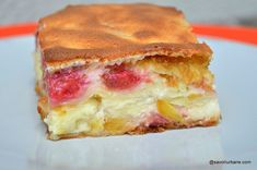 No Cook Desserts, Dessert Recipes, Romanian Desserts, Pastry Cake, Sweet Recipes, Sweet Treats, Sandwiches, Deserts, Sweets