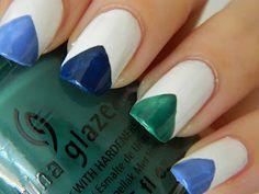 Muffin Nails: Argyle Nails