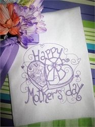 Enchanted Mother's Day Set, 12 Designs - 3 Sizes! | Featured Products | Machine Embroidery Designs | SWAKembroidery.com Sealed With A Stitch