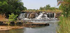 Banfora Wasserfälle im Burkina Faso Reiseführer http://www.abenteurer.net/1334-burkina-faso-reisefuehrer/