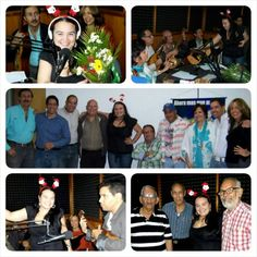 Otra #foto de este mes que no quería dejar pasar. Durante el #TertuParrandón de #FinDeAño en #LaTertuliaFM. @latertuliafm #Radio #InstaRadio #VictoriaFM #TuRadioVialInformativa #amigos #Música